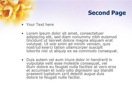 Bouquet PowerPoint Template Slide 2