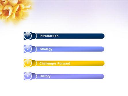 Bouquet PowerPoint Template Slide 3