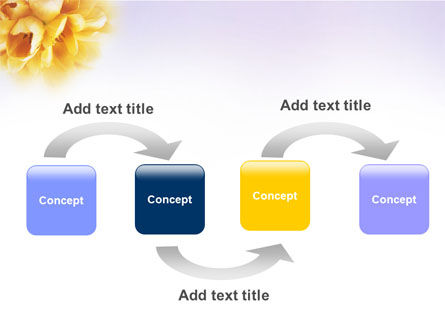 Bouquet PowerPoint Template, Slide 4, 01557, Nature & Environment — PoweredTemplate.com