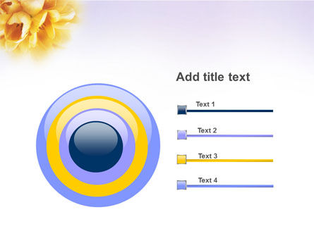 Bouquet PowerPoint Template Slide 9