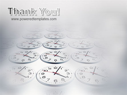 Time Checking PowerPoint Template Slide 20