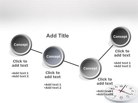 Time Checking PowerPoint Template Slide 6