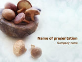 Food & Beverage: Mushroom Free PowerPoint Template #01562