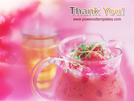 Raspberry Milk Shake PowerPoint Template Slide 20