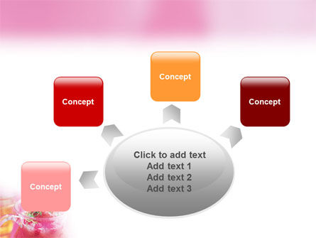 Raspberry Milk Shake PowerPoint Template Slide 7