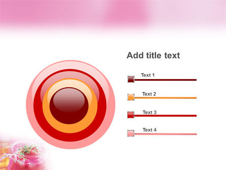 Raspberry Milk Shake PowerPoint Template Slide 9