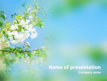 Nature & Environment: Modèle PowerPoint de printemps #01566