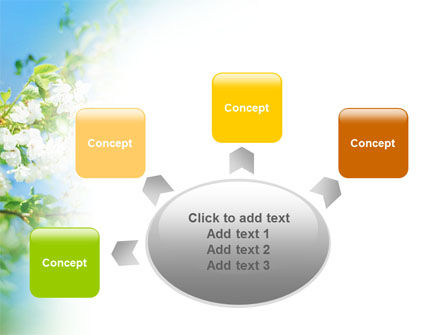 Springtime PowerPoint Template Slide 7