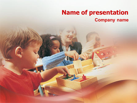 Education & Training: Children PowerPoint Template #01567