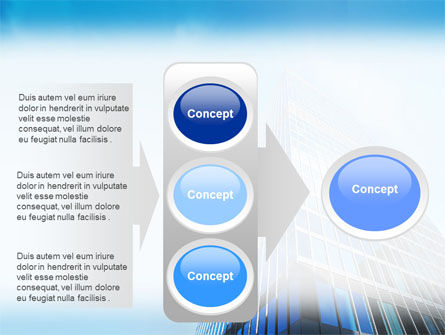 Shining Skyscraper PowerPoint Template Slide 11
