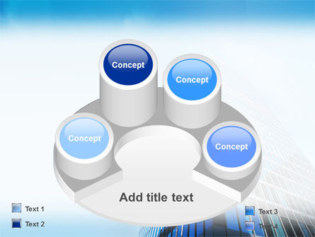 Shining Skyscraper PowerPoint Template Slide 12