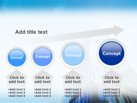 Shining Skyscraper PowerPoint Template Slide 13
