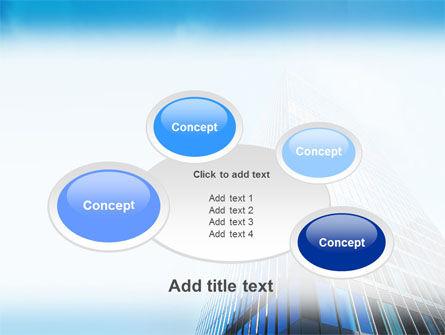 Shining Skyscraper PowerPoint Template Slide 16