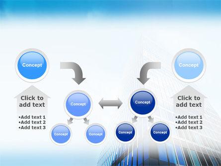 Shining Skyscraper PowerPoint Template Slide 19
