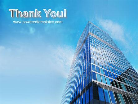 Shining Skyscraper PowerPoint Template Slide 20