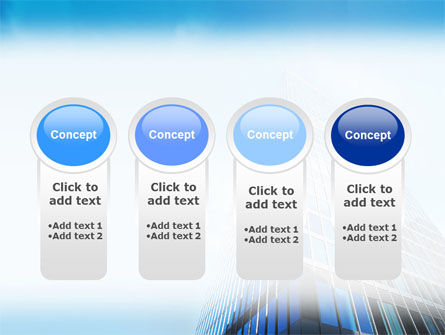 Shining Skyscraper PowerPoint Template Slide 5