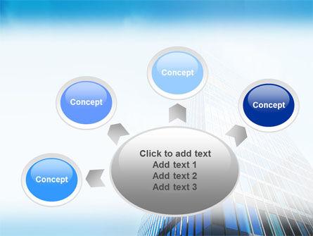 Shining Skyscraper PowerPoint Template Slide 7