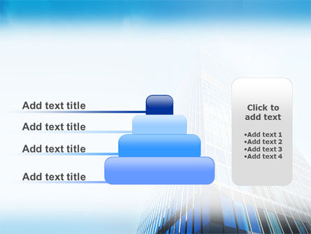 Shining Skyscraper PowerPoint Template Slide 8