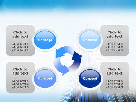 Shining Skyscraper PowerPoint Template Slide 9