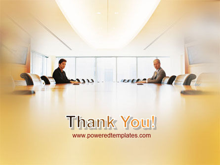 Conference Hall Negotiation PowerPoint Template Slide 20