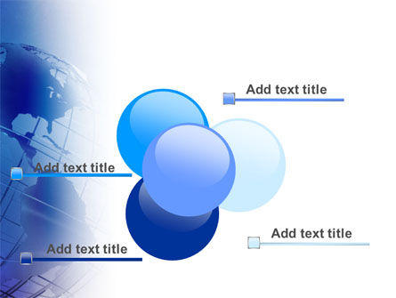 Globe Model PowerPoint Template Slide 10