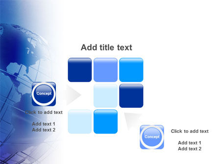 Globe Model PowerPoint Template Slide 16