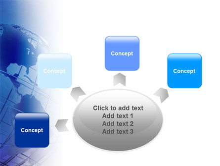 Globe Model PowerPoint Template Slide 7