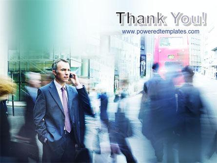 Business Conversation PowerPoint Template Slide 20