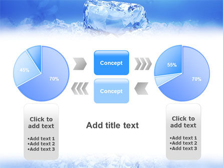 Ice PowerPoint Template Slide 11