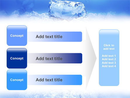 Ice PowerPoint Template Slide 12