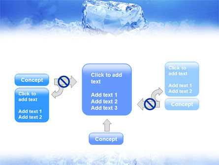 Ice PowerPoint Template Slide 13
