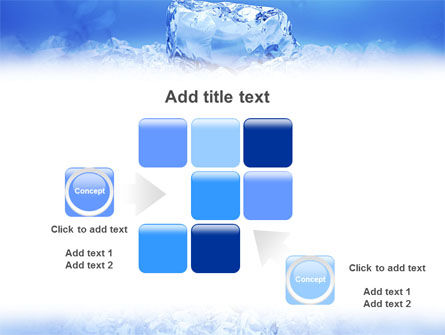 Ice PowerPoint Template Slide 16