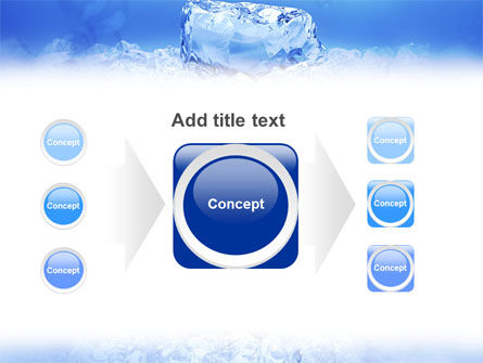 Ice PowerPoint Template Slide 17