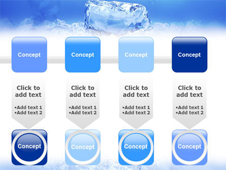 Ice PowerPoint Template Slide 18