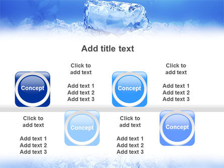 Ice PowerPoint Template Slide 19