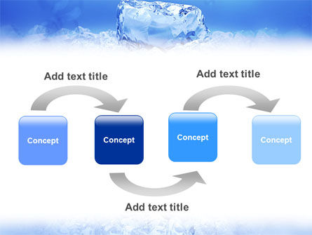 Ice PowerPoint Template, Slide 4, 01581, Nature & Environment — PoweredTemplate.com