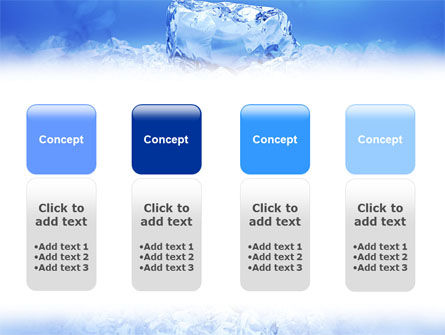 Ice PowerPoint Template Slide 5