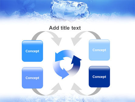 Ice PowerPoint Template Slide 6