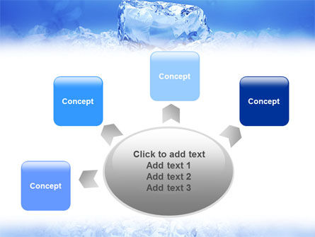 Ice PowerPoint Template Slide 7