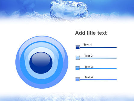 Ice PowerPoint Template Slide 9