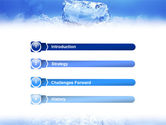 Ice PowerPoint Template#3