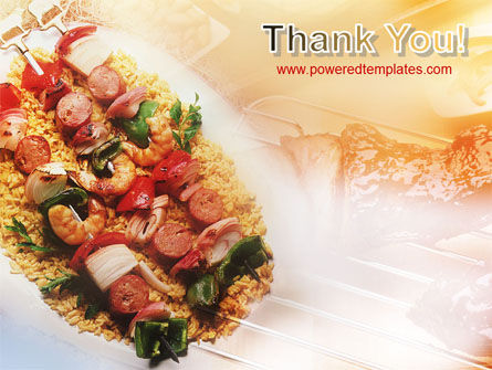 Grill PowerPoint Template Slide 20