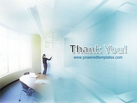 Training In A Blue Room PowerPoint Template Slide 20