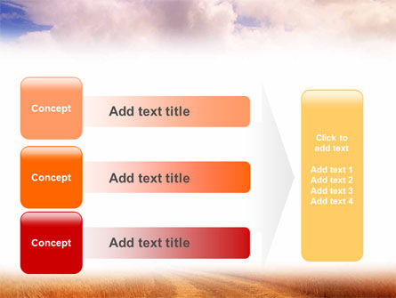 Fields of Gold PowerPoint Template Slide 12