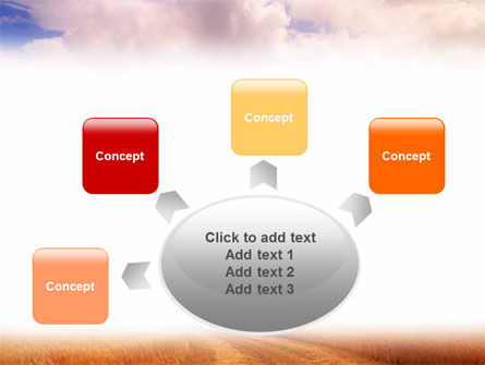Fields of Gold PowerPoint Template Slide 7