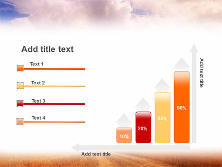Fields of Gold PowerPoint Template Slide 8