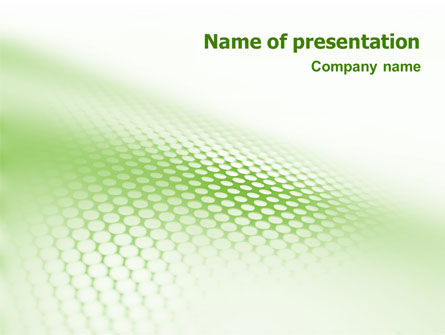 Abstract/Textures: Green Grid PowerPoint Template #01585