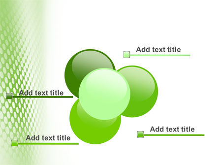 Green Grid PowerPoint Template Slide 10