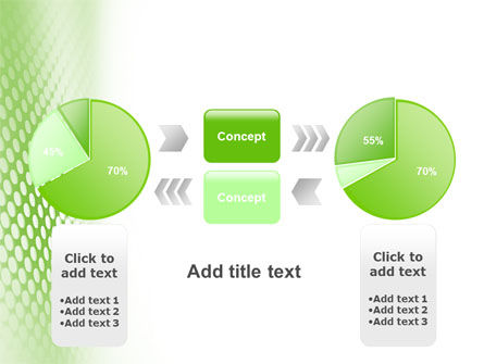 Green Grid PowerPoint Template Slide 11