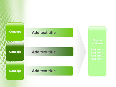 Green Grid PowerPoint Template Slide 12